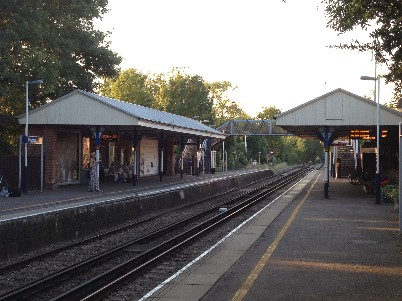 Claygate Station